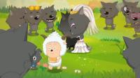 喜羊羊与灰太狼: 灰太狼和红太狼的婚礼好浪漫, 灰太狼真是好老公