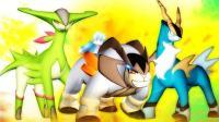 我的世界《神奇宝贝巅峰大赛》03三圣剑与水火草伊布的登顶科斯莫姆的瞬移! 爆笑精灵宝可梦#拜年祭#