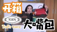 Tod's开箱-大嘴包 tod's wave--ciao意呆利