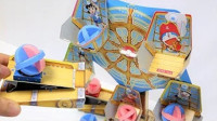 【喵博搬运】【可爱手工】哆啦A梦摩天轮射击玩具ヽ(●´ω`●)ノ