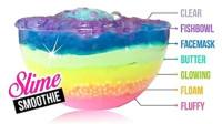 【喵博搬运】【异常满足系列】把七种不同颜色材质的史莱姆叠在一起!彩虹史莱姆盒