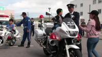 2018冲绳警察摩托车安全骑行比赛 身手不凡