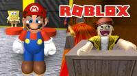 Roblox59 超级长的滑梯! 这是马里奥还是史蒂夫? 小宝趣玩虚拟世界