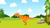 侏罗纪总动员第51期★恐龙世界恐龙家园勇闯恐龙岛霸王龙恐龙救援队★东哥品人生游戏