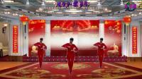阳光美梅广场舞【红红的日子】新年舞-2018最新广场舞视频