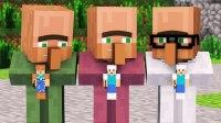 Minecraft动画--村民和女巫的故事【1】
