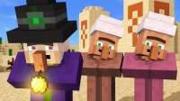 Minecraft动画--村民和女巫的故事【4】