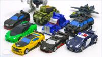 变形金刚 迷你汽车机器人军团类汽车人霸天虎 辆汽车机器人玩具 美国玩具