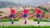 河北青青广场舞《黄土地上》16步水兵舞