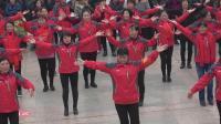 黎明脚步广昌50后快乐微信群2018年新春联欢会集体舞专场精彩瞬间.