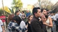墨西哥突发7.2级强震: 首都街头千人正庆祝春节