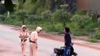 越南警察执法惨败无赖.