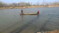 农村小哥新年第一钓, 断线又断杆事故不断, 看他怎么扭转乾坤渔获满满