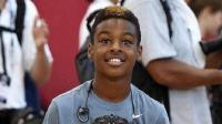 NBA全明星赛期间詹姆斯儿子单挑威少, 詹姆斯竟然在一旁当起裁判