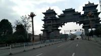 贵州独山县城沿途210国道天洞景区20170217