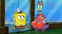 蟹老板让海绵宝宝做15分钟的老板, 小海绵能胜任吗?