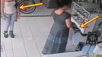 女子穿着连衣裙进商店, 监控拍下让人匪夷所思的一幕!