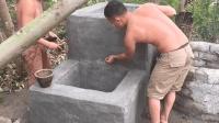 原始技术徒手建房(第十四集)打造安全滤水器第4部分