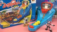 铠甲勇士玩手指篮球亲子玩具互动游戏