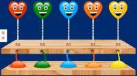 气球吹泡泡打招呼儿童英语玩具英语色彩英语少儿英语ABC