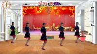 2018最新阳光美梅原创广场舞【新年一起旺】简单32步-编舞: 美梅
