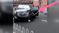 奇葩女司机, 发生车祸后当街大哭: 我的车!