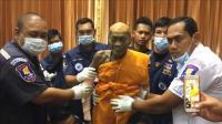 泰国高僧去世2个月, 遗体不仅不会腐烂, 还会笑着看人!