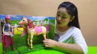 糖糖姐姐驯马师骑术表演玩具总动员