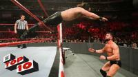 【RAW 02/12】十大精彩瞬间 芬和赛斯同时压制 双双挺进2018铁笼密室