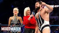 【WWE混双挑战赛】从未被看好的拉娜终于赢下一场硬仗 喜极而泣