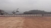 玉林一景区滑翔机坠落 机上两人一死一伤