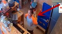 店内新来一名年轻女店员, 监控拍下不耻一幕!