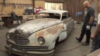没人要的破古董车被改造后价值翻100倍, 真是天才的改装手法!