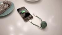 人家发明的创意数据线, 不接电源也能给手机充电, 你信吗?