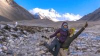 保加利亚夫妇中国行: 美梦成真, 终于到达珠峰大本营