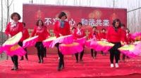 新年最喜庆的广场舞《开门红》简单扇子舞