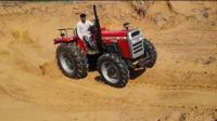 我们不用挖掘机, 因为我们还有拖拉机