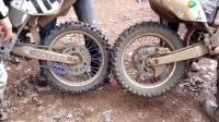 两辆摩托车后轮放在一起, 拧下油门那一刻, 才是酸爽的开始!