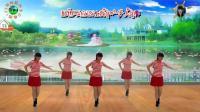 阳光美梅原创广场舞【冬天里的白玫瑰 】水兵舞风格32步-2018最新广场舞视频