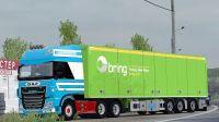 ✅欧洲卡车模拟2 - 俄罗斯地图 达夫欧六 跑着跑着睡着了