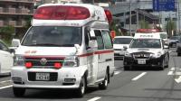 日本救护车、警车紧急出警