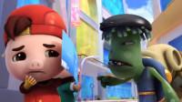 猪猪侠超星萌宠2英雄猪少年第136期未来英雄奇幻大冒险小呆呆英雄救美陌上千雨解说