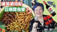 《品尝中国》第九期 云南: 葡萄酒配昆虫宴, 美味又刺激 09
