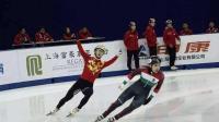 冬奥会首金! 武大靖短道500米力压韩国选手破世界纪录