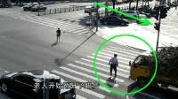 男子选择了闯红灯, 没想到走上了不归路
