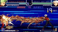 拳皇2002: K9999的蜈蚣手真是神技, 一套华丽的21连打服红丸