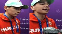匈牙利选手: 武大靖给我吓一跳啊! 上来就很快
