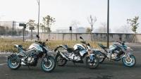 「加速实测」宝马G310R VS 升仕摩托310R百公里加速,骑士网呆子实测