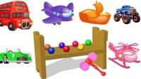 惊喜玩具快乐打击玩具英语惊喜小球儿童英语ABC少儿英语ABC