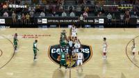 【布鲁】NBA2K18生涯模式:全美直播!骑士vs凯尔特人!詹姆斯遇欧文(61)